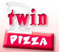 Logotipo Twin Pizza